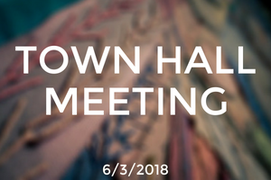 Town Hall Meeting: June 3rd