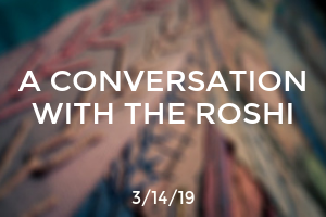 A Conversation with The Roshi