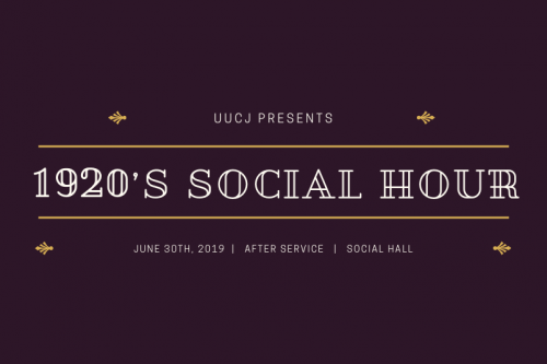 1920's Social Hour